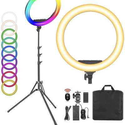19-inch RGB LED Ring Light with Stand Profile Picture